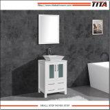 Montagem acima moderna casa de banho da bacia em cerâmica vaidade T9160