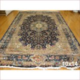10X14 превышения размера Персидском шелковых ковров ручной Knotted области ручной работы ковры с одной спальней и гостиной