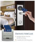 Cerradura de puerta del hotel inalámbrica con revestimiento PVD