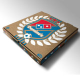 De douane Golf Verpakkende Doos van de Pizza