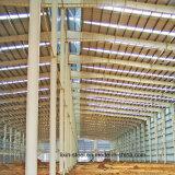Le métal en acier du bâtiment préfabriqué produit Structure 25m Clear Span