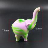 Unzerbrechliches Huka-Filter-Elefant-Form-Silikon-rauchende Wasser-Rohre