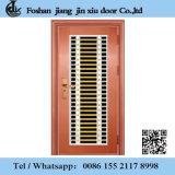 Portello d'acciaio di alluminio del cancello del metallo del ferro di alta qualità dorata della Rosa