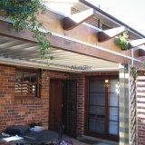 Best Selling Sombreamento Sun Pérgulas telhado para churrasqueira