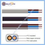 O cabo flat Cabo de PVC, construção, fio de ligação do fio, cabo de Cobre Flexível de Fios e Cabos elétricos preços 2192y fio eléctrico