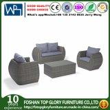 Mobilia esterna stabilita del giardino di svago del rattan del salotto del sofà di vimini moderno di combinazione
