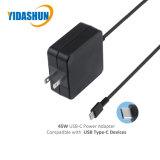 Asusのための45W USB-C PdのラップトップACアダプターまたは充電器力のアダプター