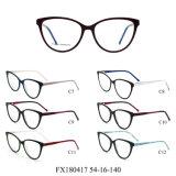 De klaar Frames van de Glazen van het Oog van Eyewear van de Acetaat van de Voorraad Optische Geen MOQ (FX180417)
