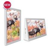 Aiyos Novo 15,4 polegadas LCD porta-retratos Digital Media Player com Tela Dupla