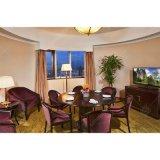 Material de madeira mesa de jantar personalizado Definir mobiliário para o Hotel