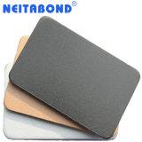 panneau composé en aluminium Mettalic de partition argentée de 4mm pour le bureau