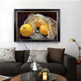 Factory Direct Art Painting, Peinture à l'huile décorative, Excellent Art Still Life Fruit Painting