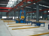 HのI型梁のプロフィールの鋼鉄溶接の生産ラインアセンブリ機械