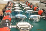 Válvula de borboleta sanitária do alimento da braçadeira Dn25-Dn250 elétrica (ACE-DF-GC)