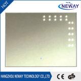 Miroir à LED intelligent avec radio et horloge