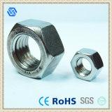 Écrou de verrouillage hexagonal d'acier du carbone (DIN985)