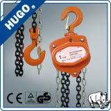 Ordinateur portable 1 tonne 2 tonnes 5 tonnes 3 tonnes actionnées à la main Petite Grue palan à chaîne, bloc de chaîne