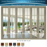 Perfil de aluminio de las puertas con el diseño de cedazo para la puerta interior