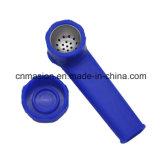 Tubo de la mano de silicona de grado alimentario para el tabaco (DS001)