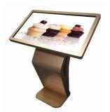 디지털 Signage 대화식 Touchscreen 모니터 간이 건축물을 서 있는 55 인치 LCD 지면