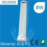 8 W 4 broches de SMD 2g11 LED TUBE PL