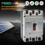 Corta-circuito solar 750VDC 100A 3 MCCB del caso de la C.C. Moduled
