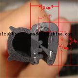 Joint de porte en caoutchouc de faisceau de fil d'acier