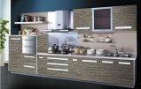 木カラー高く光沢のある紫外線食器棚(FY8721)