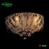 Illuminazione variopinta moderna del lampadario a bracci della lampada del soffitto di vetro LED