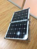 Faltender Sonnenkollektor 120W mit Sun-Energien-Zellen für das Kampieren