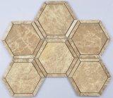 Mosaico del mármol del octágono de la linterna