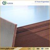 la película del pegamento de la base WBP del eucalipto del tablero de construcción de 1220*2440m m hizo frente a la madera contrachapada