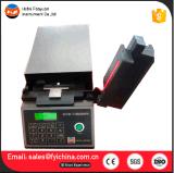 Verificador de comprimento de algodão com digitalização foto-elétrica