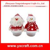 Décoration de Noël (ZY14Y323-1-2-3) décoration à thème de Noël Cadeau de Noël Cadeau Santa Bonhomme de neige