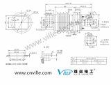 Bfw-24/16000-4電力配分に使用するHigh-Current変圧器のブッシュ