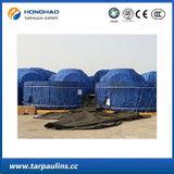 Bâche de protection imperméable à l'eau durable de PE avec traité aux UV pour la couverture/tente