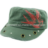 Le broyage Washed broderie Casquette militaire coloré strass Loisirs ( TM1994 )