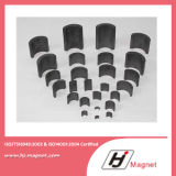 Forte magnete di segmento del ferrito della fabbrica personalizzato 2016