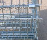 Armazém empilhável aço Arame paletes gaiola