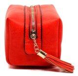 Il cuoio in linea di acquisto delle borse delle donne increspa le borse del progettista