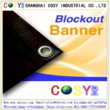 広く利用された屋外広告材料PVC Blockout旗