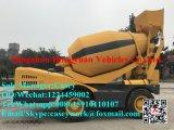 Individu chaud de matériel de construction de Hongyuan de vente chargeant la machine concrète mobile de camion de mélangeur de colle 3.5cbm à vendre