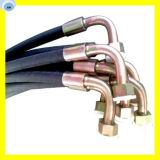Assemblage du tuyau d'huile Assemblage du tuyau industriel Assemblage du tuyau avec ajustement