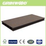 Platelage Material-Wood creux avec le Bâtiment Composite en plastique