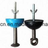 Rebaixo de borracha redondo concreto anterior para a escora de levantamento (32T)
