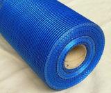 голубая сетка стеклоткани 145g для здания