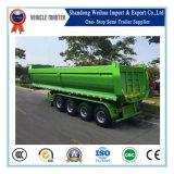 De 80 tonnes de dumper remorque arrière semi avec 4 essieux de Fuwa