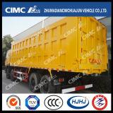 FAW/Hongyan/Shacman/HOWO/Dongfeng/Beiben/Liuqi 6*4 Dump Truck con Cimc Huajun Strengthened Cargo Box