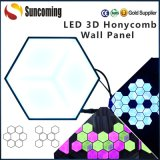 LED 3D Honeycomb decorazione fase LED Panel