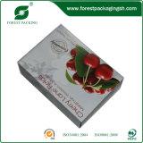Rectángulos de papel de la fruta para la cereza del embalaje